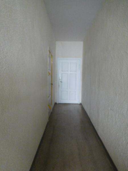 ...am Ende die Wohnungstür...