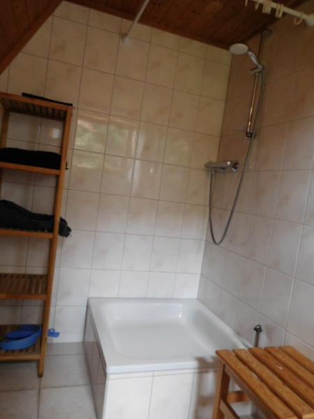 ...und Dusche natürlich auch...