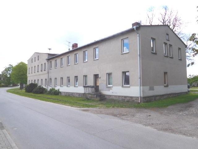 Mühlengiebel und 6 WE an der Dorfstraße...