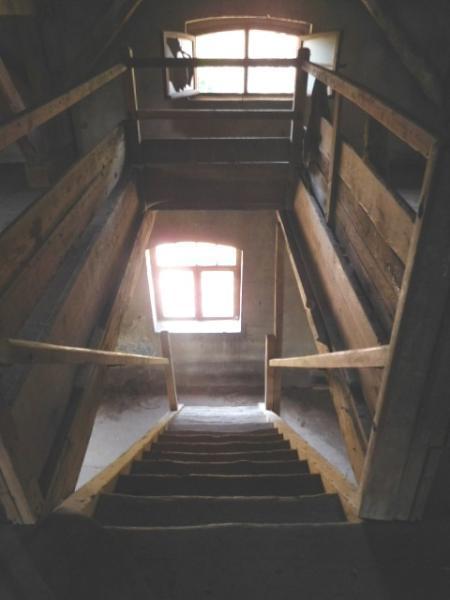 ...nun wieder aus zweiter Ebene nach unten...