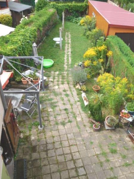 ...und schönem Gartenblick...